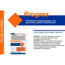 A - Detergente supersgrassante Progres