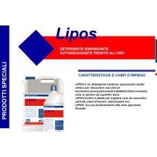 B - Detergente sgrassante autoasciugante Lipos